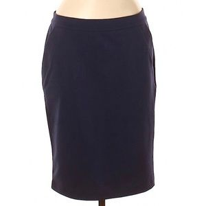 Elle sexy blue pencil skirt M